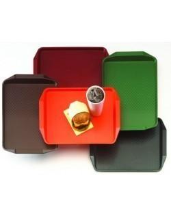 Taca prostokątna z profilowanymi uchwytami 410 x 300 mm - CAMBRO, Fast Food