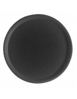 Taca gastronomiczna antypoślizgowa 405 mm, czarna - Cambro CamTread