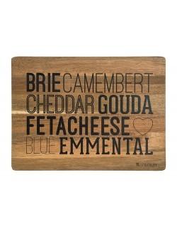 Deska do krojenia AMBITION Cheese Toscana 32,5 x 24 x 1,8 cm