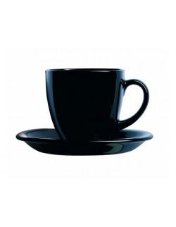 Komplet kawowy Carine White&Black 220ml