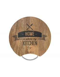 Deska do krojenia /Home is where my kitchen is/ AMBITION Toscana 30 x 1,8 cm
