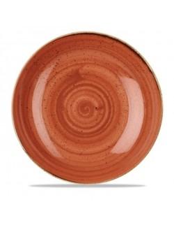 Miska evolve 2,4 l pomarańczowa - CHURCHILL Stonecast Spiced Orange