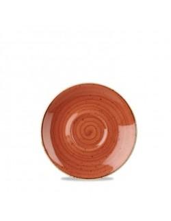 Spodek 155 mm pomarańczowy - CHURCHILL Stonecast Spiced Orange