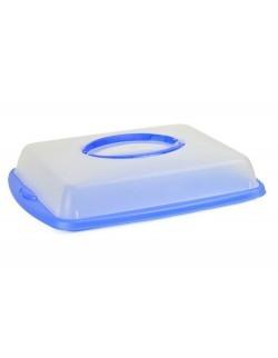 Pojemnik DOMOTTI Dolce na żywność 43 x 31 cm niebieski