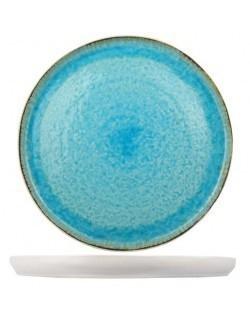 Talerz prezentacyjny 310 mm, błękitny Laguna - Cosy & Trendy