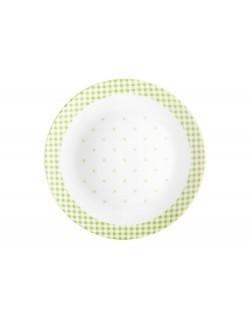 Talerz deserowy Breakfast DOMOTTI 20 cm zielony