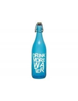 Butelka PASABAHCE Drink More Water 1 l niebieska