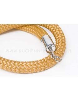 Złoty sznur pleciony 150 cm