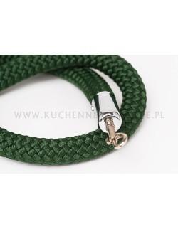 Zielony sznur pleciony 150 cm