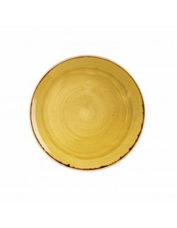 Talerz okrągły 165 mm - Churchill Stonecast Mustard Seed Yellow