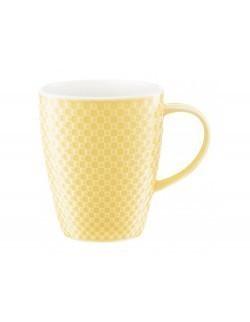 Kubek AMBITION Nordic 350 ml żółty