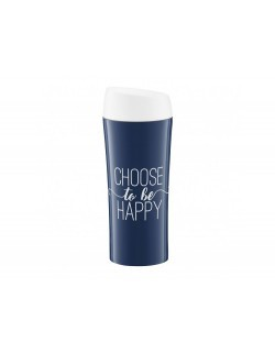 Kubek termiczny AMBITION Nordic Choose To Be Happy 400 ml