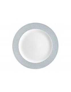 Talerz obiadowy AMBITION Nordic 27,5 cm niebieski
