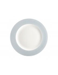 Talerz deserowy AMBITION Nordic 21,5 cm niebieski