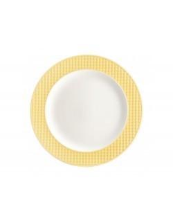 Talerz obiadowy AMBITION Nordic 27,5 cm żółty