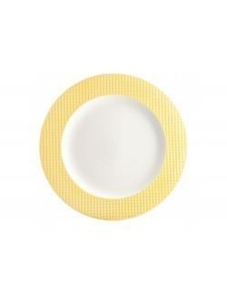 Talerz deserowy AMBITION Nordic 21,5 cm żółty
