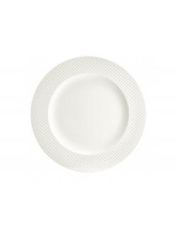 Talerz obiadowy AMBITION Nordic 27,5 cm kremowy