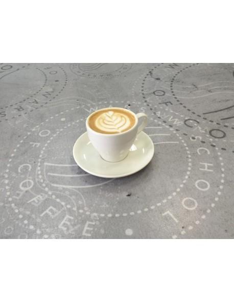 Spodek do filiżanki espresso lub doppio 130 mm, kremowy - ARIANE Amico Cafe
