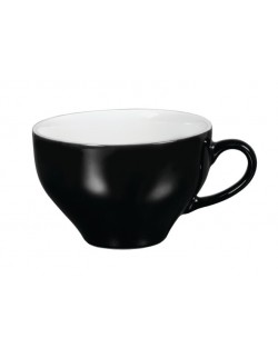 Filiżanka do cappucino 300 ml czarno - biała - ARIANE Amico Cafe