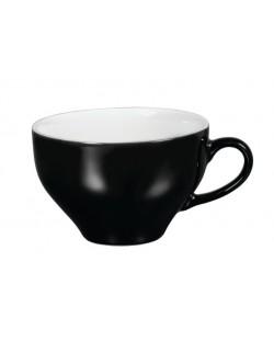 Filiżanka do latte 200 ml czarno - biała - ARIANE Amico Cafe