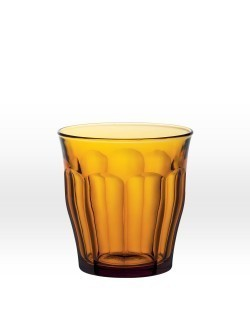Picardie szklanka sztaplowana 310 ml niska zółta DURALEX