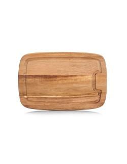 Deska z drewna akacjowego 32 x 21 cm - Zeller
