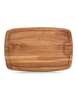 Deska z drewna akacjowego 40 x 26 cm - Zeller