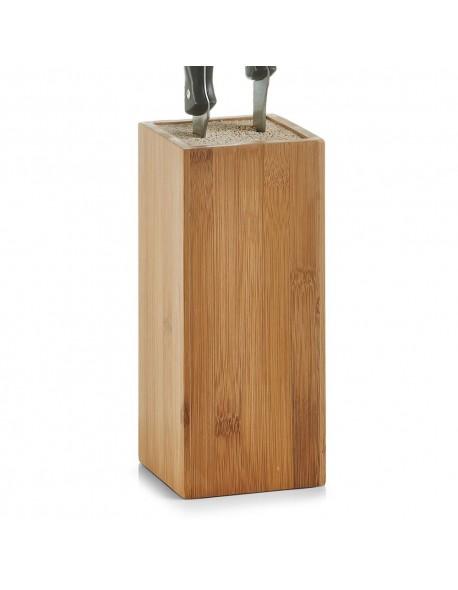 Stojak na noże z drewna bambusowego - Zeller