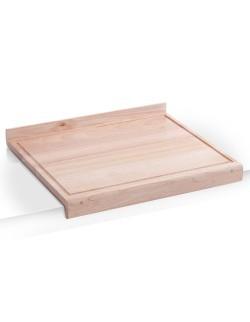 Deska z rowkiem z drewna bukowego 48 x 41 cm - Zeller