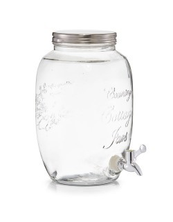 Szklany słoik z dozownikiem 5 l - Zeller