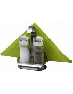 Komplet przyprawników AMBITION Lindi 3-elementowy sól i pieprz