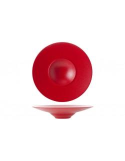 Talerz głęboki Gourmet 280 mm czerwony - ARIANE Dazzle Red
