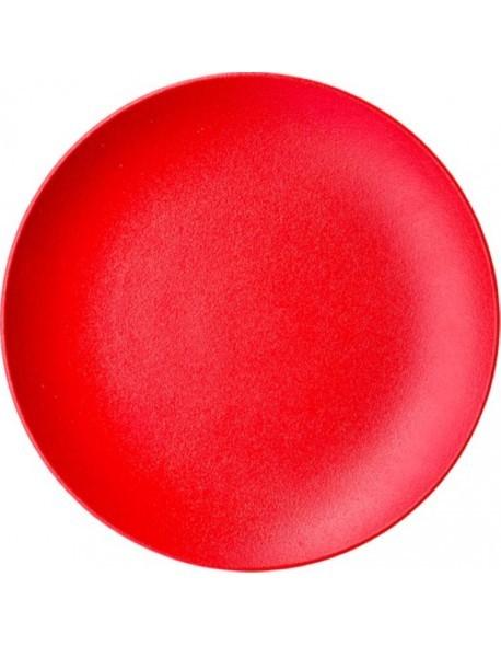 Talerz płaski bez rantu 310 mm czerwony - ARIANE Dazzle Red