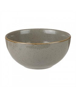 Miska 470 ml szara - CHURCHILL Stonecast Peppercorn Grey