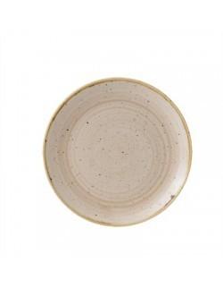 Talerz deserowy 165 mm - CHURCHILL Stonecast Nutmeg Cream