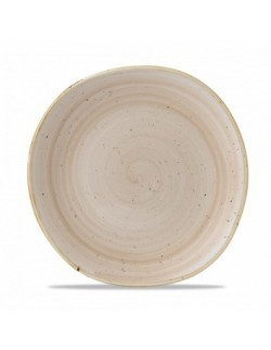 Talerz płytki 210 mm kremowy - CHURCHILL Stonecast Nutmeg Cream