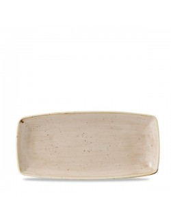 Półmisek prostokątny 350 x 185 mm kremowy - CHURCHILL Stonecast Nutmeg Cream