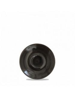 Spodek Onyx do espresso 118 mm - CHURCHILL Monochrome