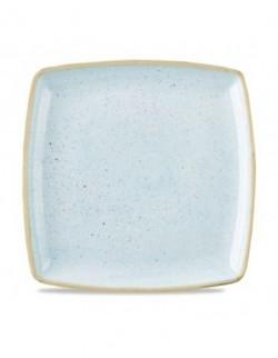 Talerz płytki kwadratowy 268 mm - CHURCHILL Stonecast Duck Egg Blue