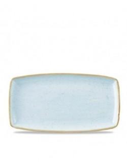 Półmisek 350 x 185 mm jasnoniebieski - CHURCHILL Stonecast Duck Egg