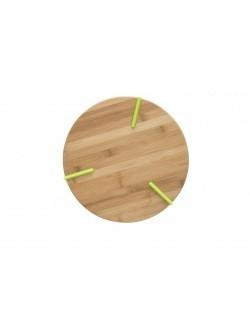 Deska do krojenia / podstawka z silikonowymi nóżkami AMBITION Greta 27 x 2 cm