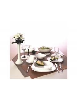 Komplet obiadowy LUMINARC Lotusia 19-elementowy