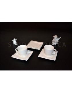 Komplet kawowy AMBITION Kubiko 220 ml 12-elementowy