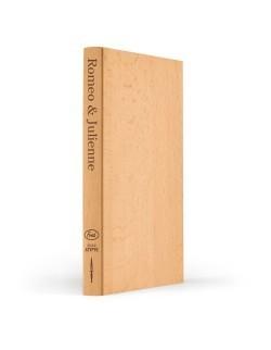 Drewniana deska do krojenia imitująca książkę - FRED