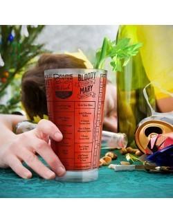 Szklanka na koktajle z przepisami Hangover Good Measure - Fred