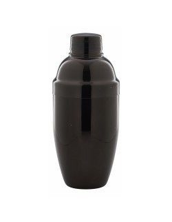 Shaker Cobbler 3-elementowy 500 ml Gun Metal Black - GenWare