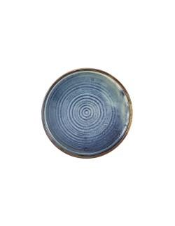 Talerz prezentacyjny 210 mm - Terra Porcelain Aqua Blue GenWare