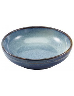 Miska coupe 230 mm - Terra Porcelain Aqua Blue GenWare