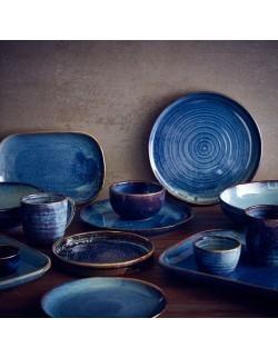 Kubek na frytki 320 ml - Terra Porcelain Aqua Blue GenWare