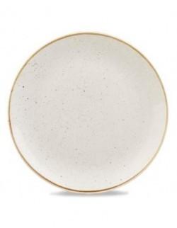 Talerz płytki Evolve 217 mm biały - CHURCHILL Stonecast Barley White